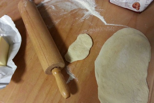 Det lilla brödet har min son gjort